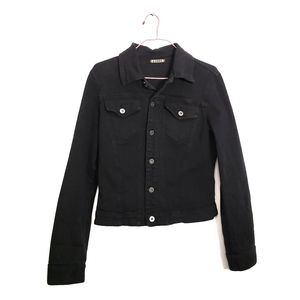 Agolde Vintage Black Denim Jacket